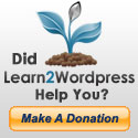 Make a Donation to Learn2Wordpress.com